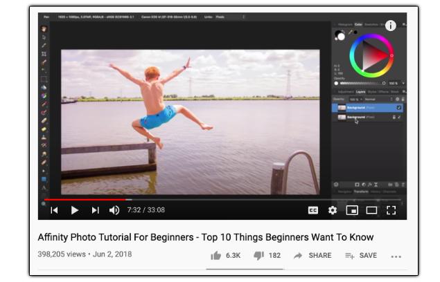 Affinity Revolution - YouTube Channel